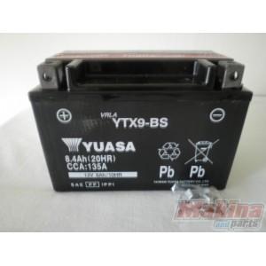 yuasa battery ytx9 bs suzuki gsr 600 gsf 650 gsxr 600 750. Black Bedroom Furniture Sets. Home Design Ideas