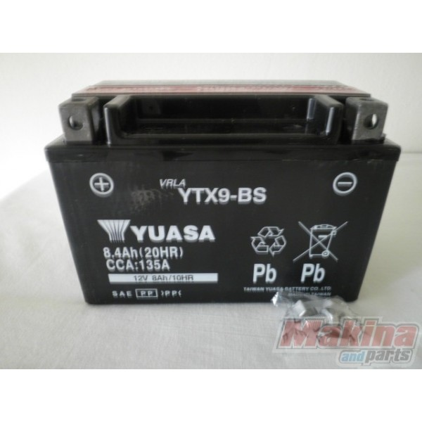 yuasa battery ytx9 bs suzuki gsr 600 gsf 650 gsxr 600 750. Black Bedroom Furniture Sets. Home Design Ideas