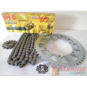DIDF650 BMW F-650 Drive Chain Set D.I.D.