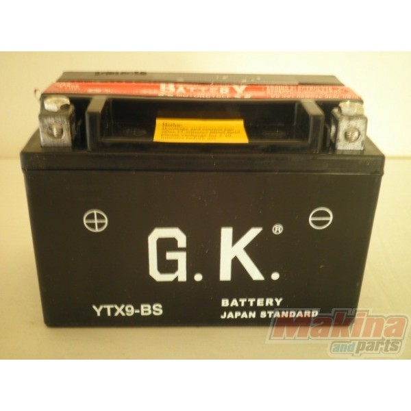battery ytx9 bs suzuki gsr 600 gsf 650 gsxr 600 750. Black Bedroom Furniture Sets. Home Design Ideas