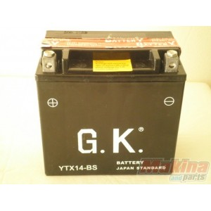 battery ytx14 bs suzuki dl 1000 an 650 gsx 1400 sv 1000. Black Bedroom Furniture Sets. Home Design Ideas