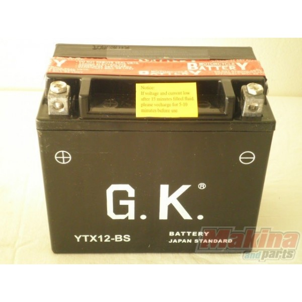 battery ytx12 bs piaggio beverly 125 liberty 125 liberty 150 liberty 200. Black Bedroom Furniture Sets. Home Design Ideas