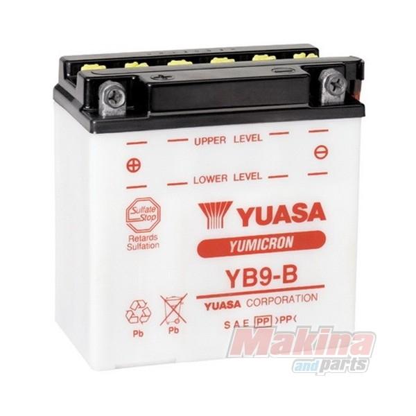 yuasa battery yb9 b piaggio typhoon 125. Black Bedroom Furniture Sets. Home Design Ideas