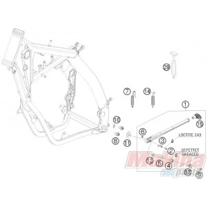 Yamaha Ttr 225 Wiring Diagram also Freightliner Flb Main Cab Wiring Harness Connectors Diagram additionally Automotive Engine Stand furthermore Ktm 525 Engine Diagram moreover Gas Valve Specifications. on ktm 450 exc wiring diagram