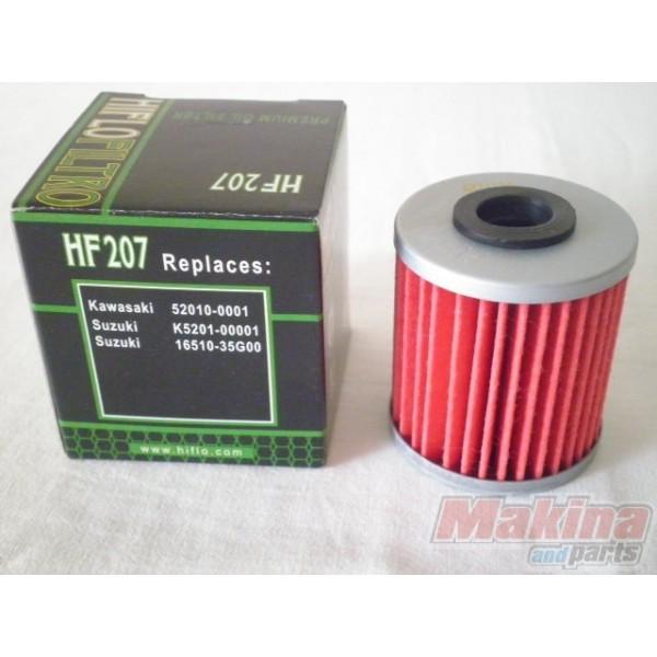 hf207 hiflofiltro oil filter suzuki rmz-250/450 fl-125 address
