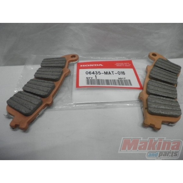 06435mat016 rear brake pads honda xl 1000v varadero cbr for Honda brake service coupons
