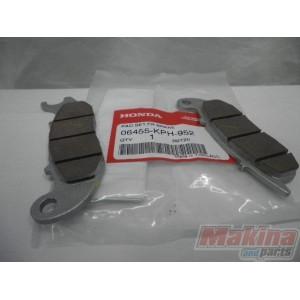 06455kph952 front brake pads honda anf 125 innova for Honda brake service coupons