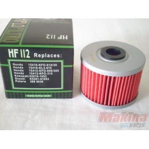 FILTRO OLIO MOTORE HIFLO HF112 PER HONDA NX 650 DOMINATOR 1992