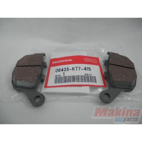 06435kt7415 honda rear brake pads xrv 750 xl650v nx 650 for Honda brake service coupons