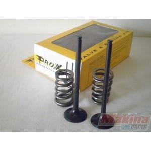 07 Suzuki RMZ450 Pro-X Steel Exhaust Valve and Spring Kit  28.SES3407-1