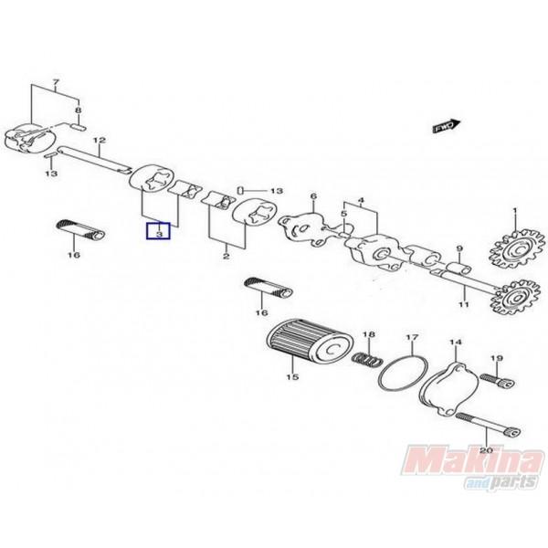 rmz450 engine diagram  catalog  auto parts catalog and diagram