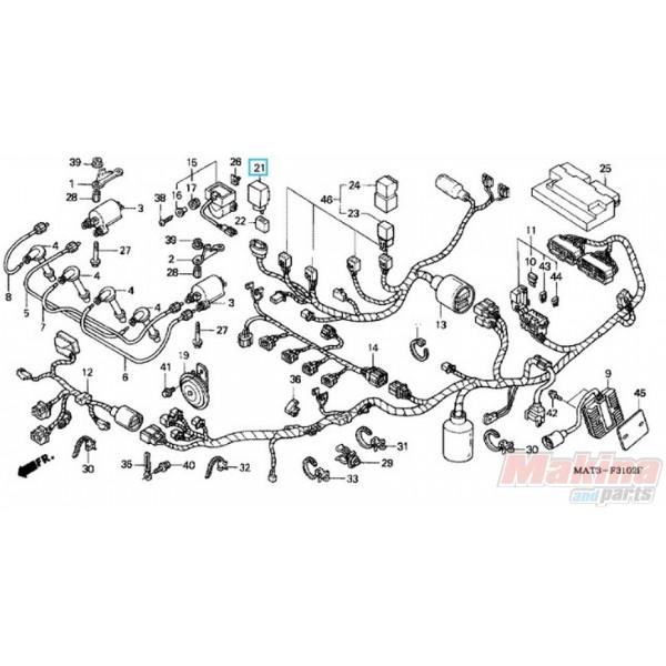 38301kk9952 Relay Comp  Winker Honda Cbr