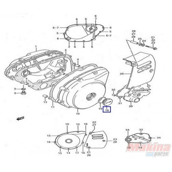 2003 Kawasaki Ltz 400 Engine Diagram