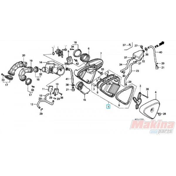 17205mr1000-air-filter-honda-vt-400-vt-600-steed-shadow- Yamaha Virago Wiring Diagram on