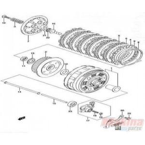 2144129f20set clutch drive fiber plates set suzuki dl 650. Black Bedroom Furniture Sets. Home Design Ideas