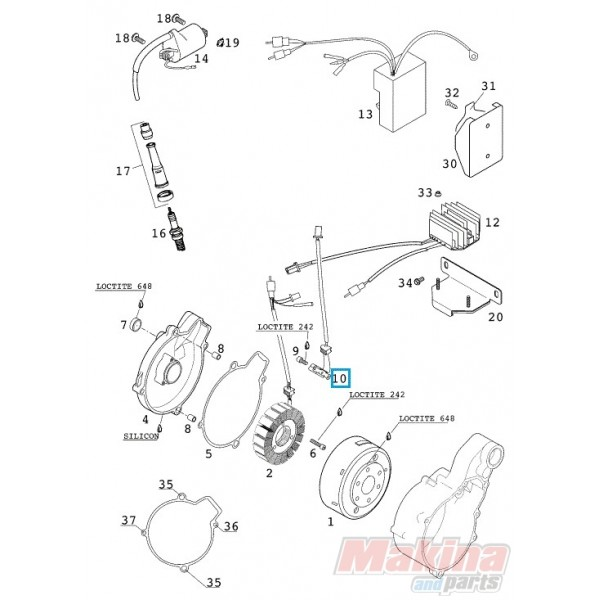 2 x Rotules Direction Articulation Avant Bas Dodge Journey 2008-2016 dirigeants Boulons
