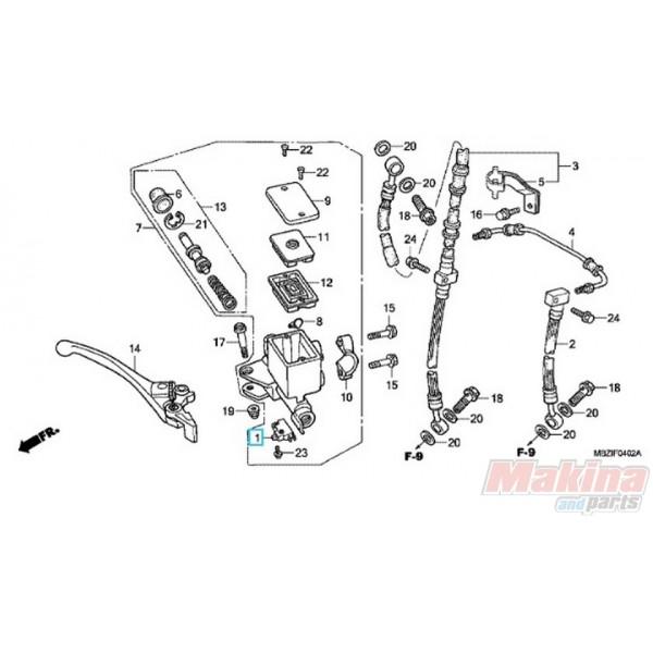 35340mm5600 brake light switch front honda cb