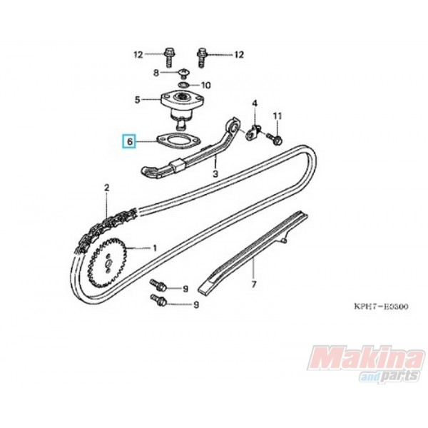 4017 14560kgh900 Gasket Timing Chain Tensioner Honda Anf 125 Innova Cbr 125 Flantza Tentothra as well 320306 2000 Arctic Cat 250 2x4 Atv Carb Assembly Problems furthermore 190488259214011969 furthermore 3978 14500kcz000 Timing Chain Tensioner Honda Xr 250 96 04 likewise  on 04 400 ltz timing