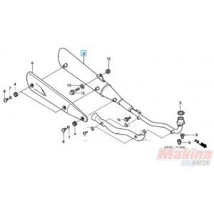 06455kph952 Front Brake Pads    Honda       Anf       125       Innova      Car