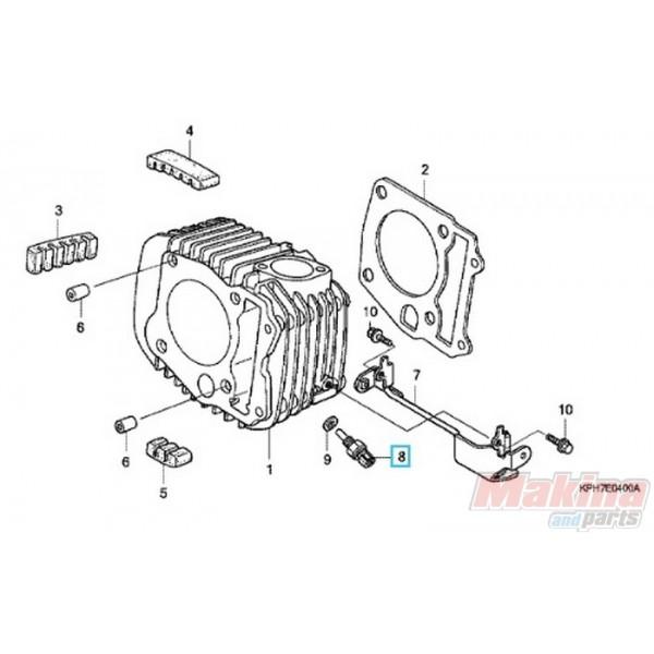 37750kph701 sensor assy  thermostat oil honda anf