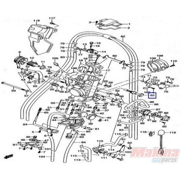 1341029f00 valve starter suzuki drz