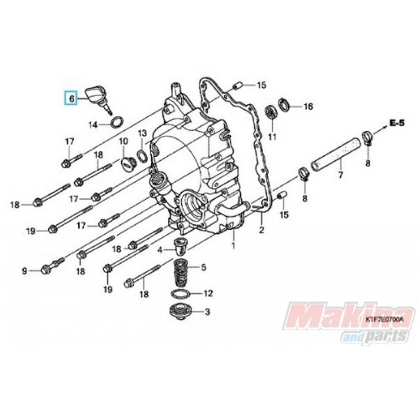 15651krj900 Gauge Oil Level Honda Sh 125 150 I
