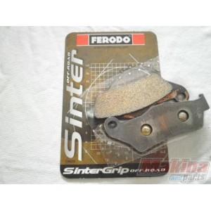 2x FERODO Rear Brake Discs Solid 276mm DDF805