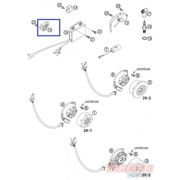 wiring diagram 2003 ktm 125sx  diagram  auto wiring diagram