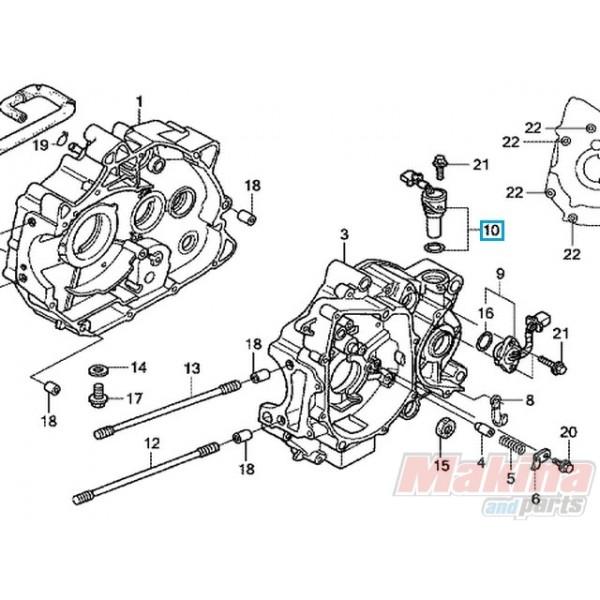 37700kph901 Sensor Assy Speed Honda Anf 125 Innova 03 06