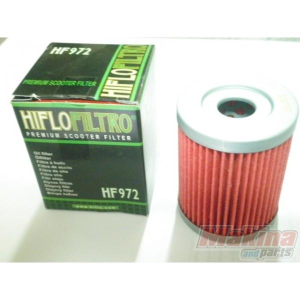 HF972 HIFLO Oil Filter SYM MaxSym-400i-600i