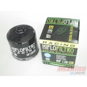 Suzuki GSF1250 // S Bandit 1200 HifloFiltro Oil Filter 2007 to 2015 HF138