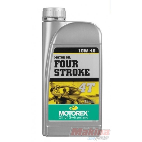 Motorex four stroke 10w 40 semi synthetic engine for Which motor oil is thicker