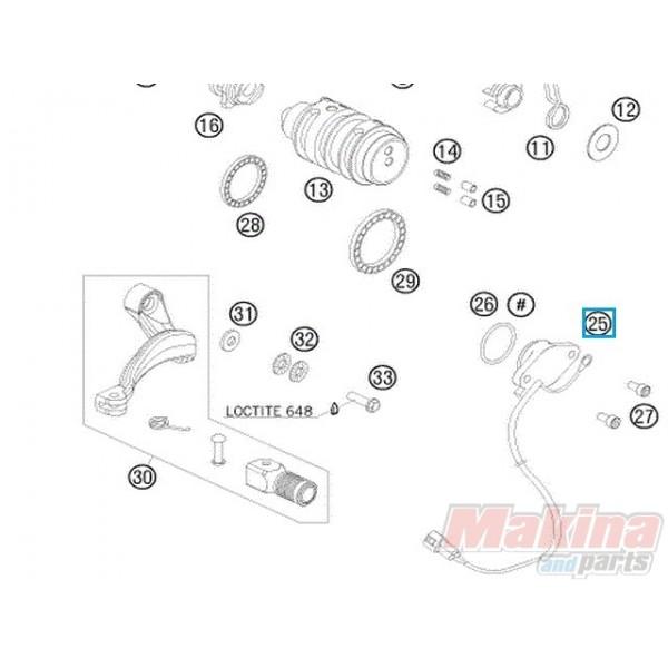 60011023100 Gear Position Sensor Ktm Adventure 950 990