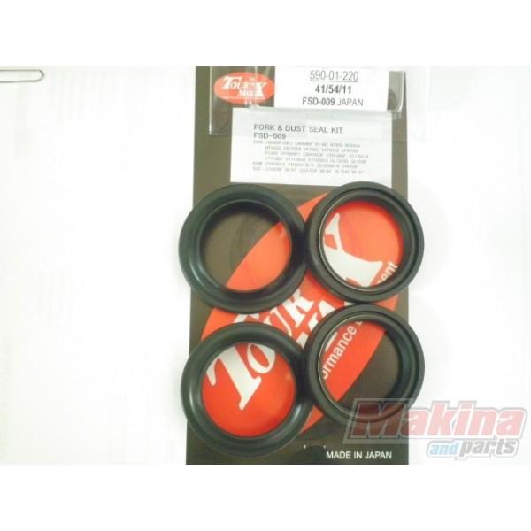 Front Fork Oil & Dust Seals Set JPN 41x54x11 Suzuki GSXR-600