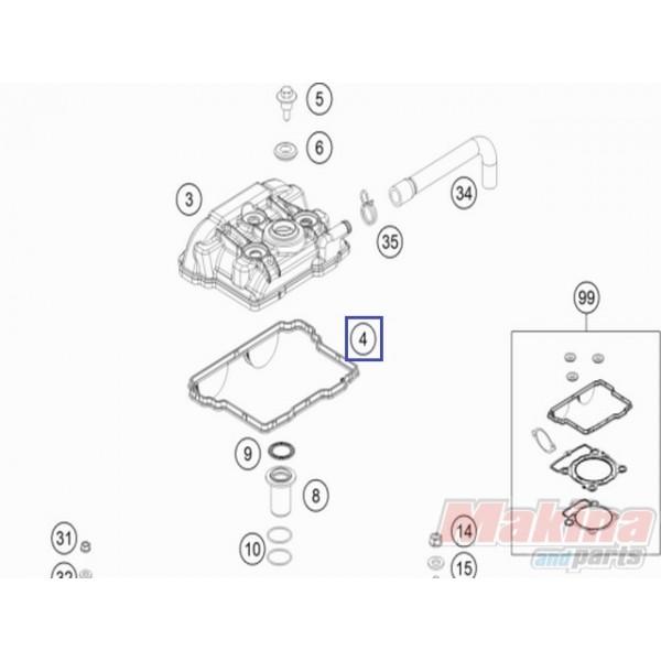 77236053000 valve cover gasket ktm exc