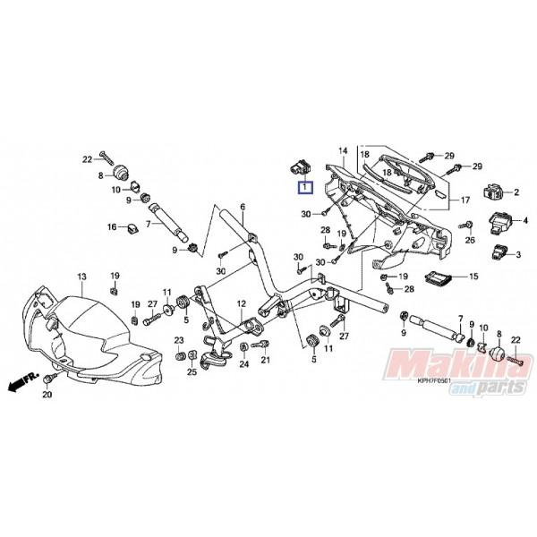 35160kph971 Starter Switch Honda Anf
