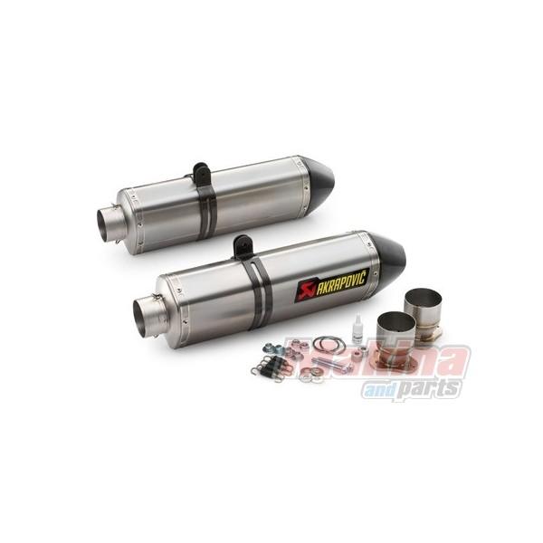 60105099000 Akrapovic Titanium Silencer Set Without Catalytic Converter Lc8 950 990: Akrapovic Catalytic Converter At Woreks.co