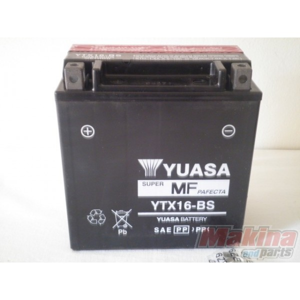 yuasa battery ytx16 bs honda xl 1000v varadero. Black Bedroom Furniture Sets. Home Design Ideas