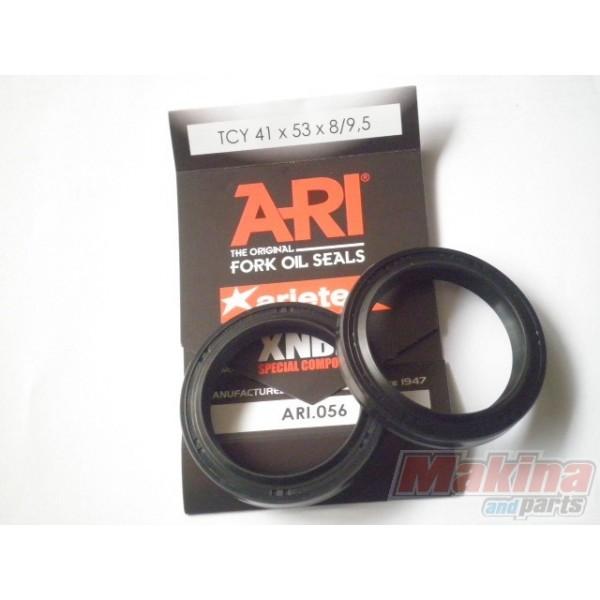 ARI056 ArieteFront Fork Oil Seals Set 41X53X8/9 5 Suzuki GSF